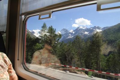 車窓からの景色も楽しみのひとつ